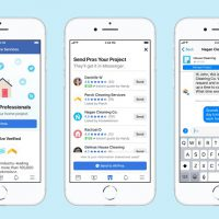 Facebook : une nouvelle fonctionnalité qui aide à trouver des plombiers et des électriciens