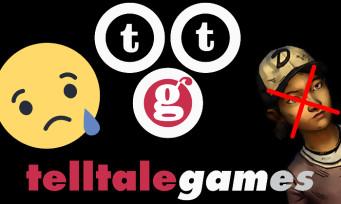 Telltale Games : le studio ferme ses portes, presque tout son effectif licencié