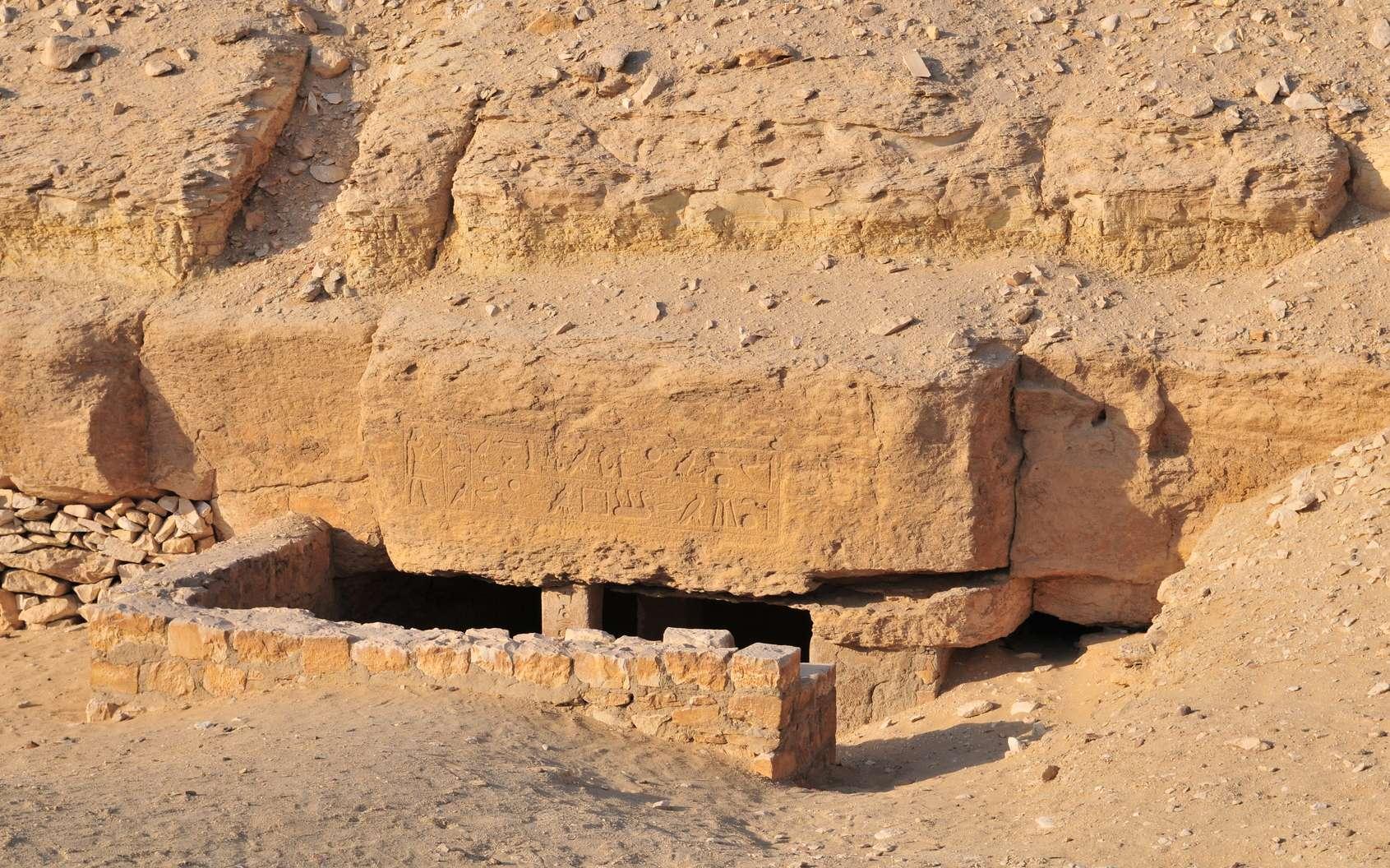 Égypte : une tombe de plus de 4.400 ans découverte à Saqqara