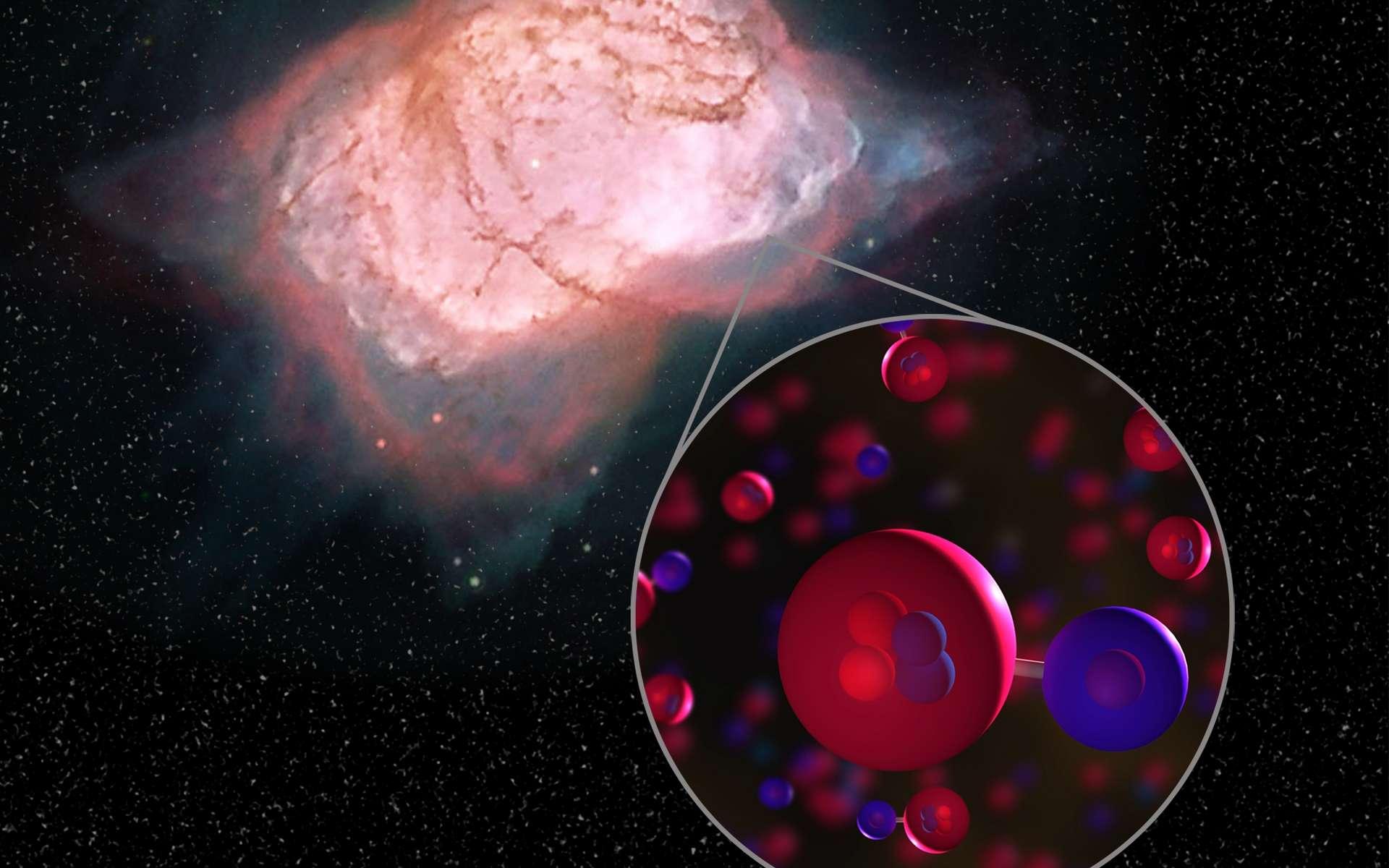 La première molécule à s'être formée après le Big Bang détectée dans l'espace
