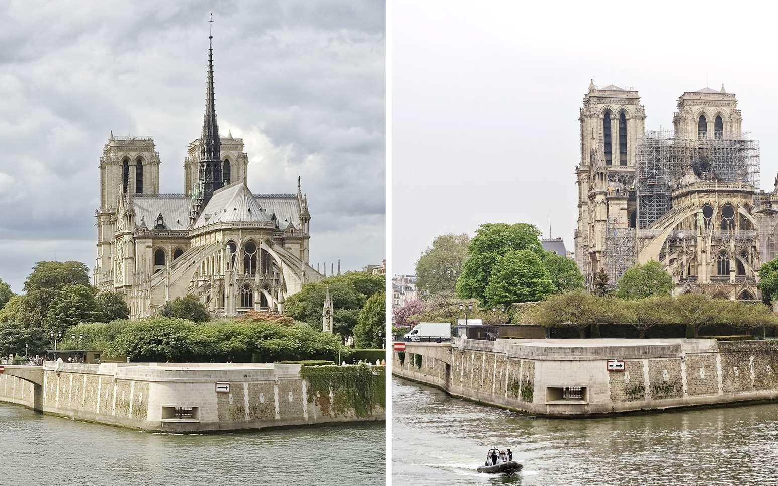 Flèche de Notre-Dame : lancement d'un concours international d'architectes