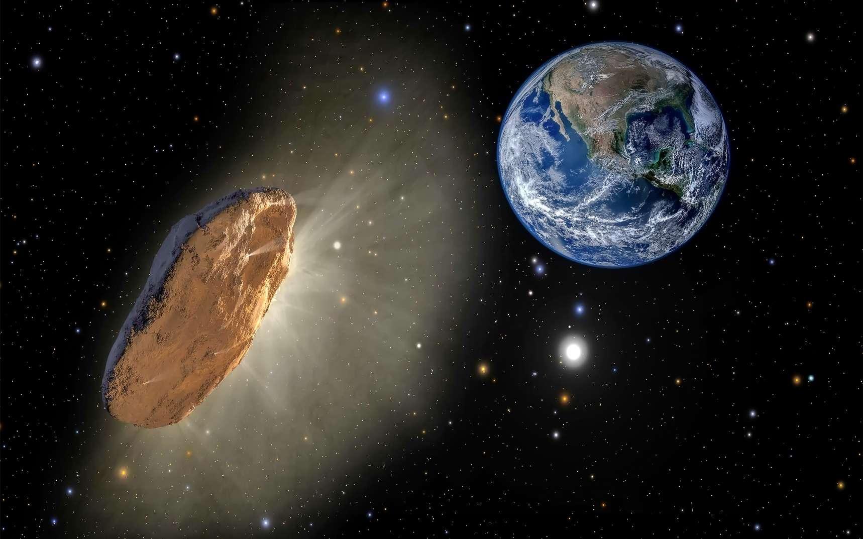 Un météore d'origine interstellaire serait tombé sur Terre en 2014