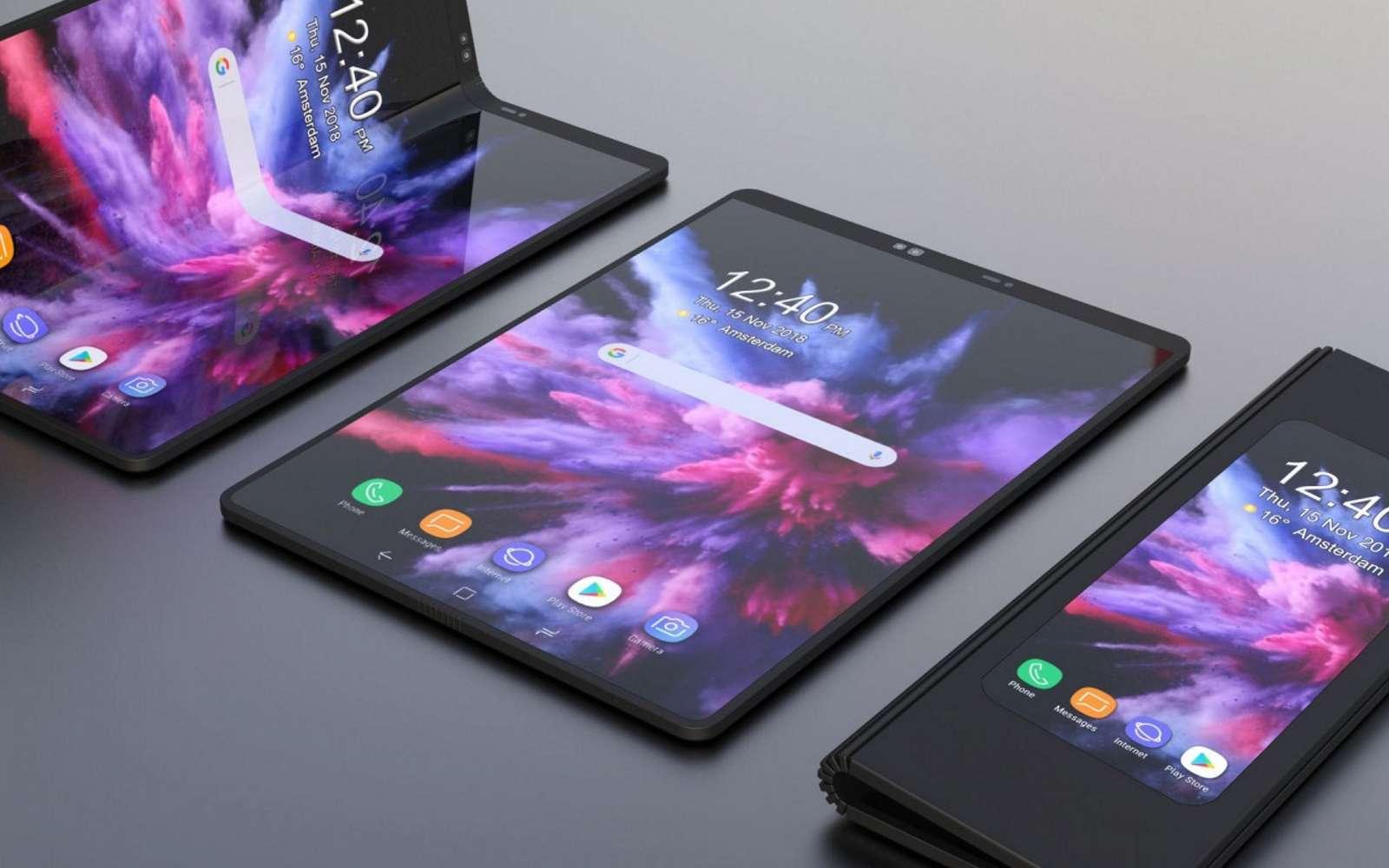 L'écran pliable du Samsung Galaxy Fold soulève des inquiétudes
