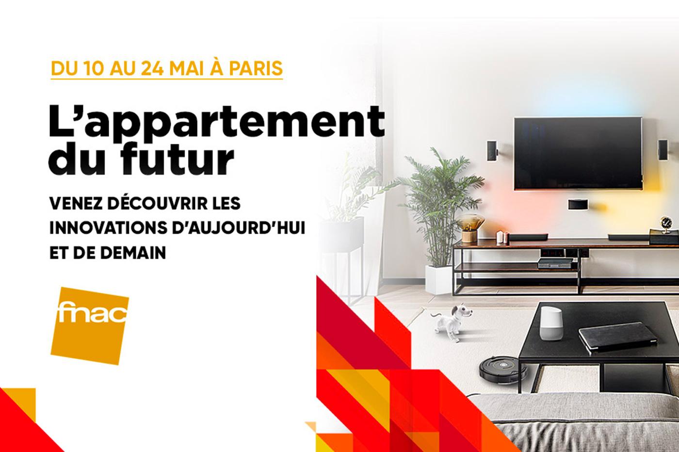 Fnac Darty vous invite dans son «Appartement du Futur» en plein Paris