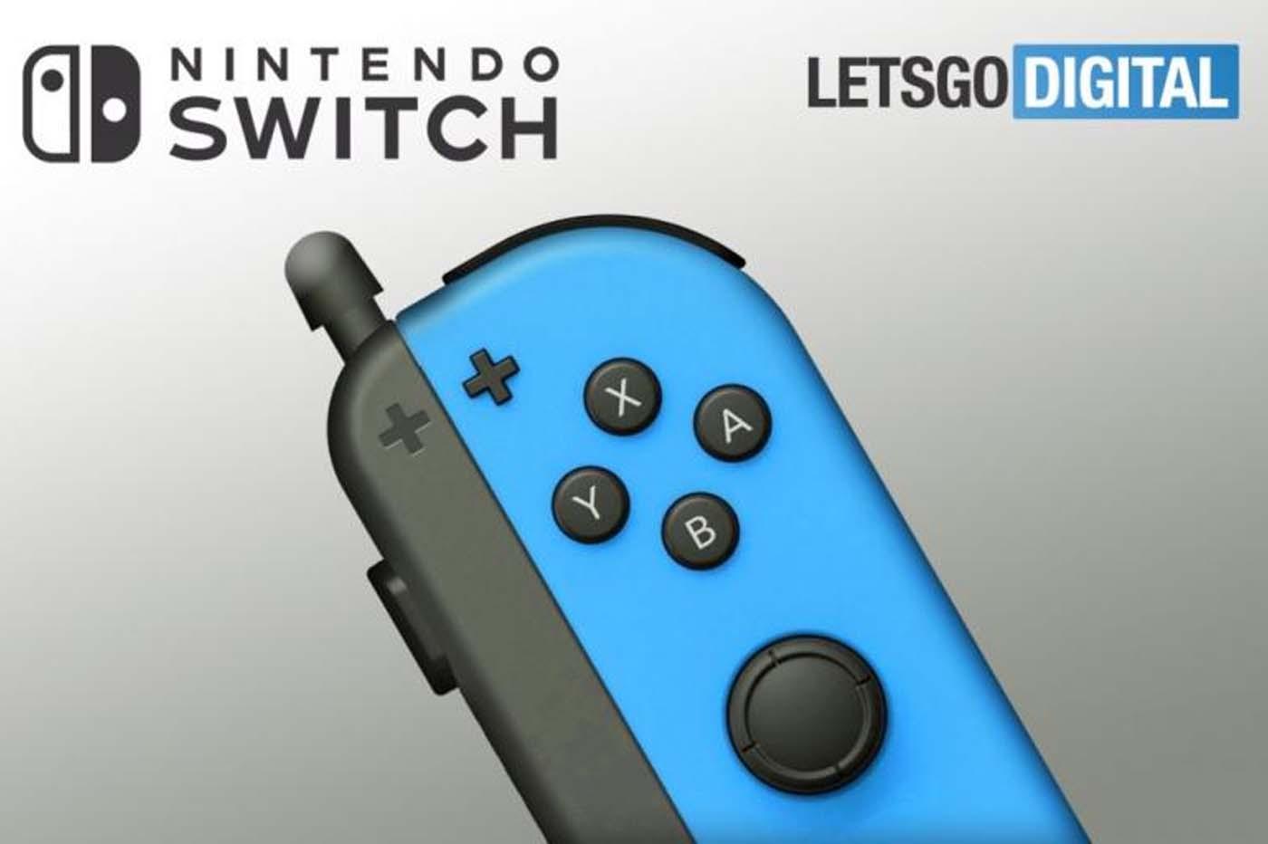 Mais quel est cet étrange brevet pour la Switch, avec un stylet sur les joycon?