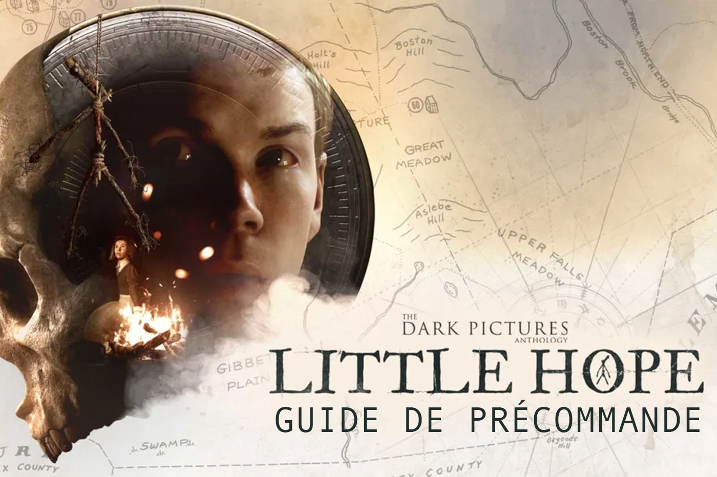 Où précommander The Dark Pictures Anthology: Little Hope?