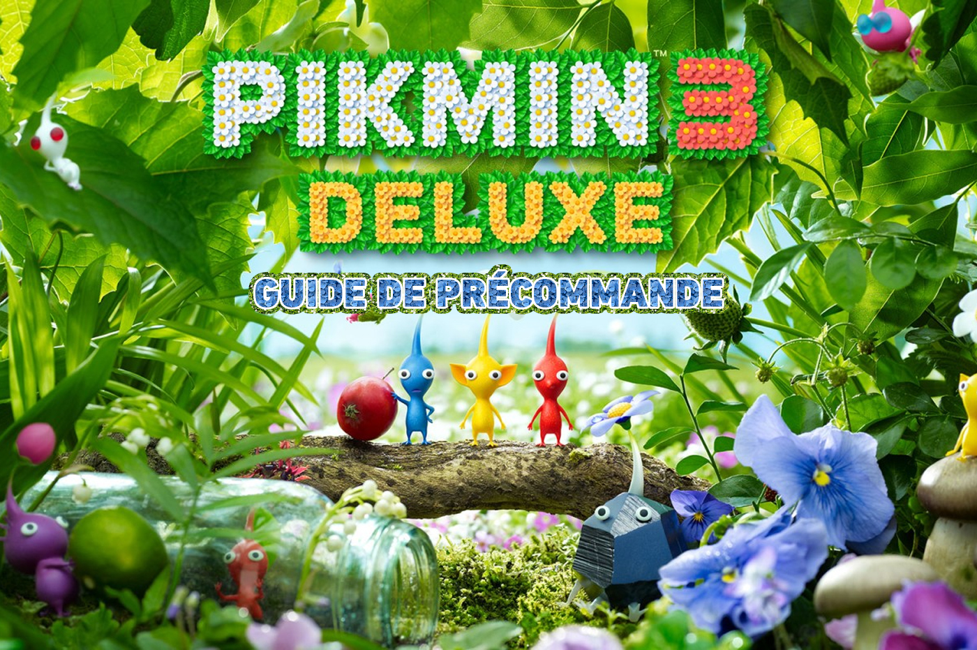 Où précommander Pikmin 3 Deluxe sur Nintendo Switch?