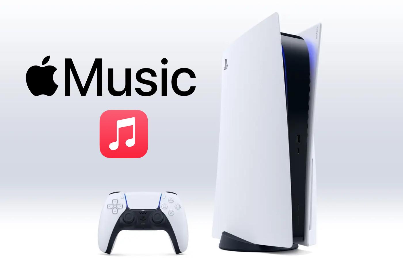 Apple Music en approche sur PS5?